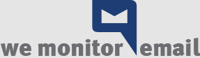 We Monitor Email logo